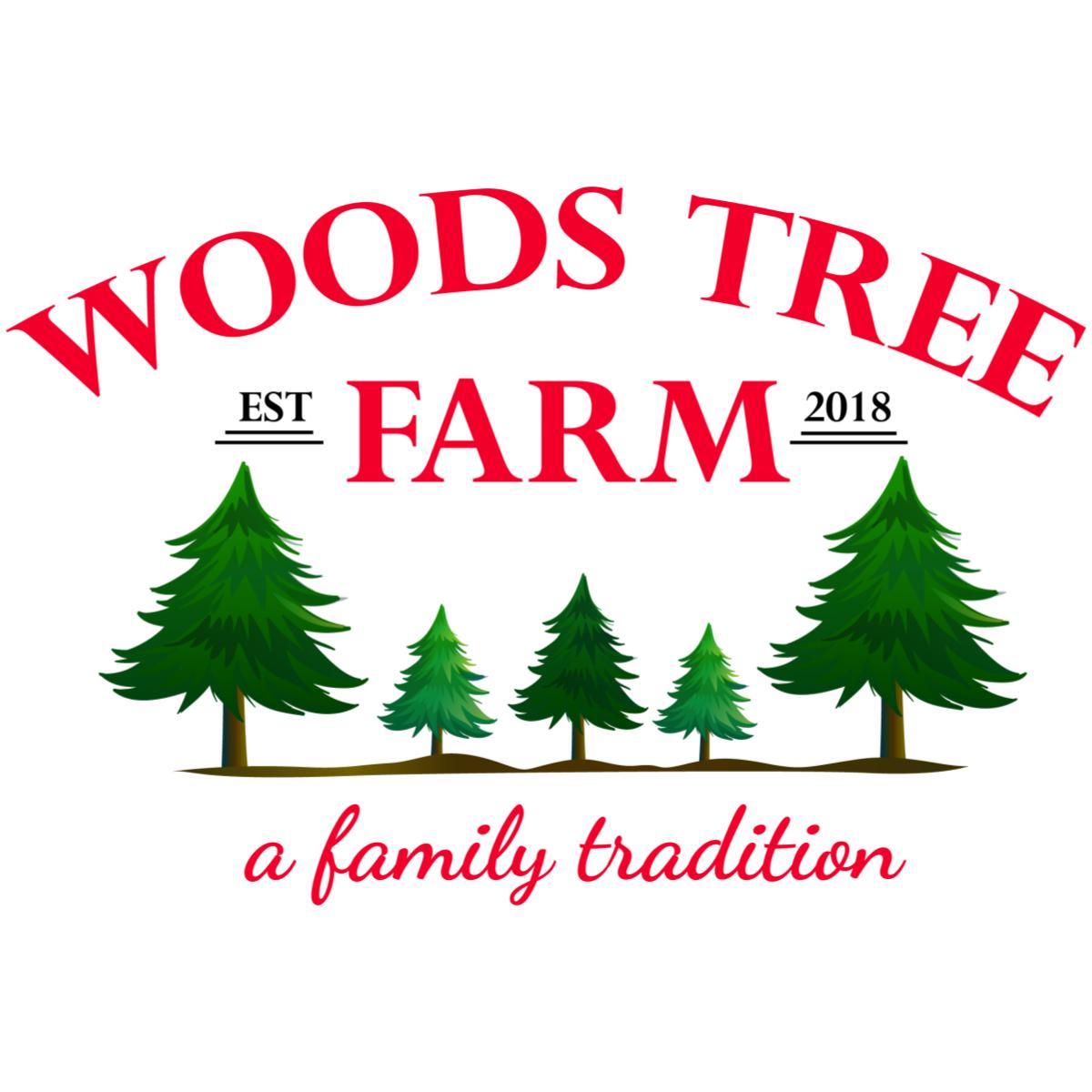 Christmas Tree Farm Logo.Woods Tree Farm Woods Tree Farm