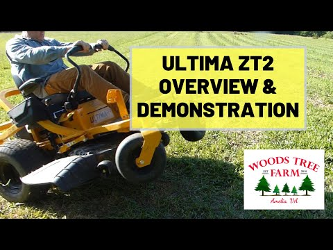Cub Cadet Ultima ZT2 Mower Overview and First Season Update